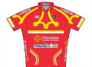 2015 maillot occitane cyclisme formation