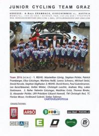2016 cp junior cycling team graz