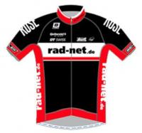 2016 maillot rad net rose team