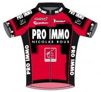 2017 maillot team pro immo n roux