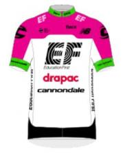 2018 maillot ef education drapac