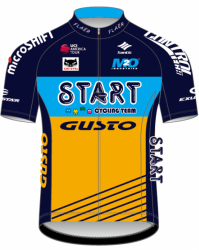 2018 maillot start team gusto