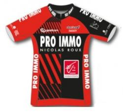 2018 maillot team pro immo n roux