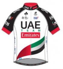2018 maillot uae team emirates
