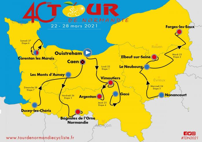 2021 tour normandie