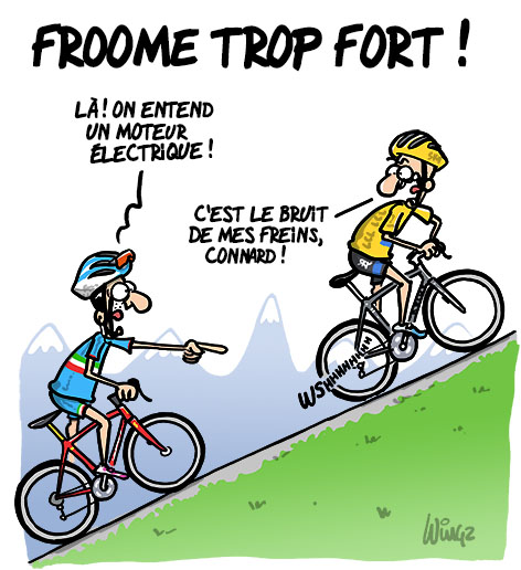 Humour wingz froome